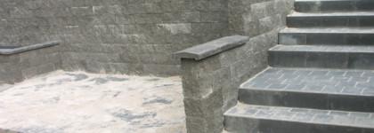 Březno – opěrná stěna proti sesuvu